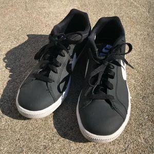Nike Court Royale black sneakers